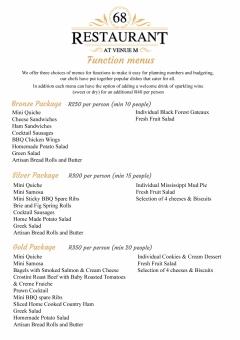 Function menus